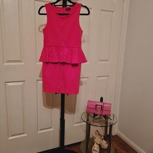 Bardot 12 Pink Semi Formal Clothes Birthday Dress